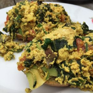 How to make scrambled tofu