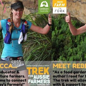 Trekking for From Farm to Fork