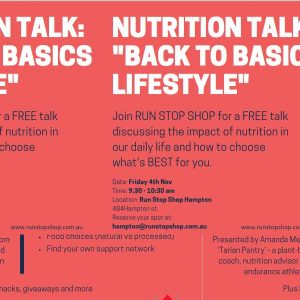 "Nutrition Talk: ""Back to Basics Lifestyle"" (November 2016)"