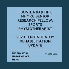 The Physical Performance Show: Ebonie Rio (PhD)