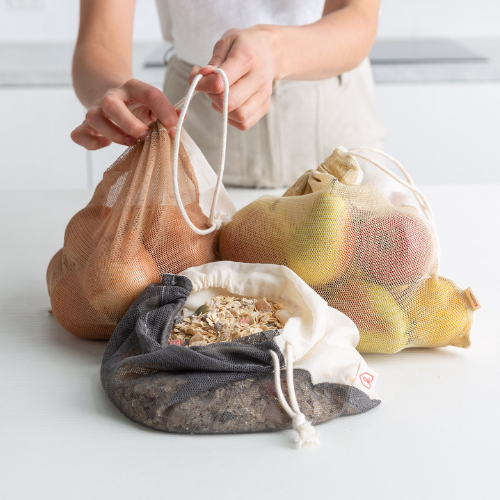 The Keeper Diamond Weave Produce Bag – 3 Pack