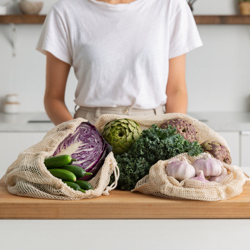 The Keeper Mesh Produce Bag – 3 Pack