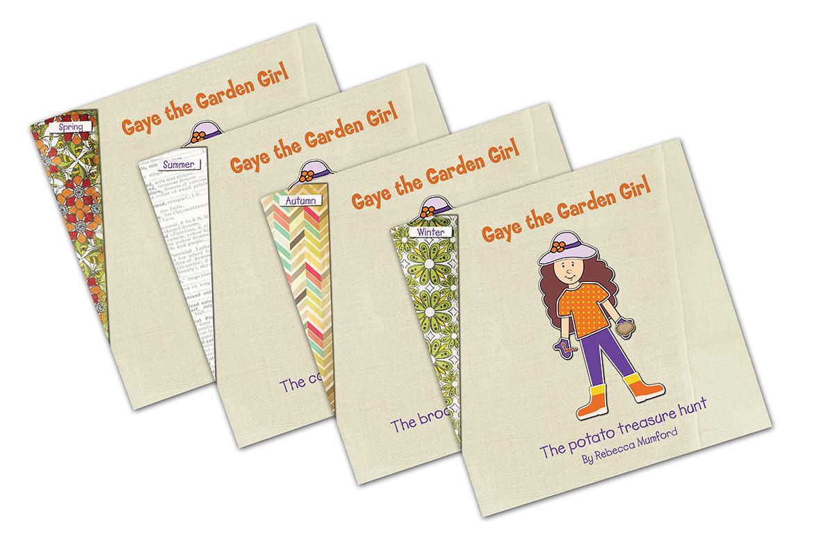 Gaye the Garden Girl – Set of 4 Books